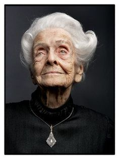 Rita Levi-Montalcini (1909-2012). Italian neurologist 103 years active and working. Nobel Prize (Physiology/Medicine) for her discovery of nerve growth factor. Inspiring for all women. ~ 'I tell young people: Do not think of yourself, think of others. Think of the future that awaits you, think about what you can do and do not fear anything. Do not fear the difficulties: I've had many in the past and I crossed without fear, with total indifference for myself'