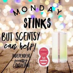 www.shopwendys.scentsy.us Scentsy to the rescue! Banish those Monday blues with Scentsy Go - take your favorite fragrance wherever you go! (Scent pods sold separately.) #ScentsyGo #YouCanTakeItWithYou More like this