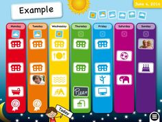 Week Planner for Kids Teaches Early Learners Time Management Skills
