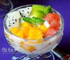 冰爽水果捞的做法