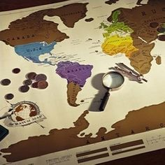 1 pcs scratch off map travel scratch map 88x52 cm world map novelty free shipping travel scratch map personalized world map poster 1pcs in map from office gumiabroncs Images