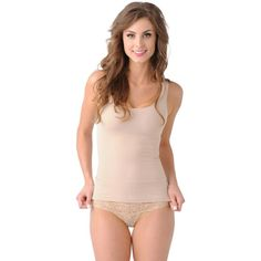 96ce82d408 Belly Bandit® Mother Tucker™ Compression Scoop Neck Tank in Nude Belly  Bandit