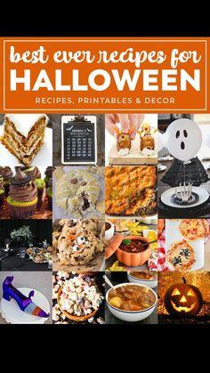 Fun Halloween Crafts, Halloween Dinner, Halloween Goodies, Halloween Food For Party, Halloween Treats, Halloween Buffet, Halloween Kitchen, Halloween Recipe, Fall Treats