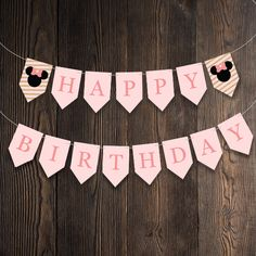 """"""" The perfect theme for any little girl who loves her some Minnie Mouse! Product includes: Bunting / Flags (Full alphabet + one extra design) Party Flags, Party Bunting, Bunting Flags, Minnie Mouse Party, Mouse Parties, Cupcake Wrappers, Party In A Box, Party Printables, Little Girls"""