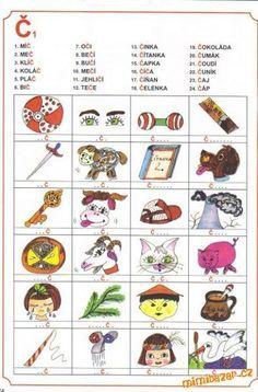 "AKTIVITY S DĚTMI - LOGOPEDIE ""C"" a ""Č"" Teaching English, Montessori, Education, Comics, Children, Cuba, Young Children, Boys, Kids"