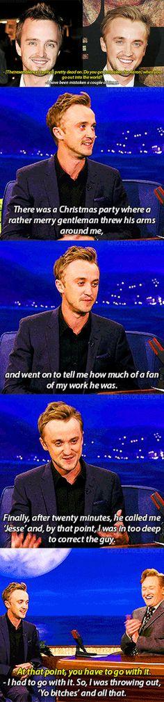 Nice of you, Tom...