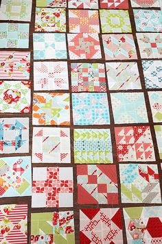 Farmers Wife blocks (Camille Roskelley)...definitely a quilt I want to make...onto the list it goes...