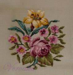 http://gavrucha.gallery.ru/, gold lily and lavender rose needlepoint