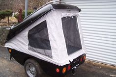 motorcycle camping trailers | And the selfcontained tent trailer