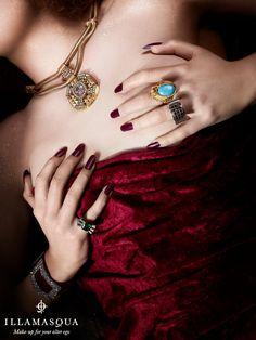 Illamasqua = I must have these talon shaped nails.
