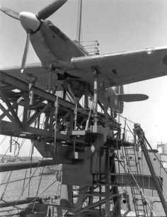 Royal Navy Aircraft Carriers, Hawker Hurricane, Ww2 Planes, Ww2 Aircraft, Military Aircraft, Aircraft Pictures, Rare Photos, Ww2 Photos, World War Two