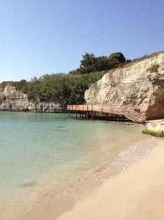 Santo Stefano - Otranto | Spiaggia all'alba - Picture of Camping Village Mulino D'Acqua, Otranto