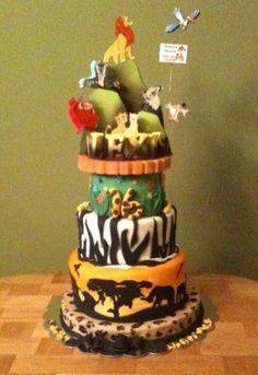 Lion King Wedding Cake