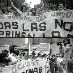 El Orgullo Gay en Vallecas. La manifestación de 1981. Fotografía y otros materiales