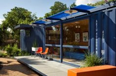 Architectura - Compact overnachten in Container Guest House