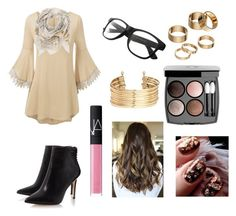"""""""Untitled #452"""" by surfernurd ❤ liked on Polyvore featuring Sophie Darling, H&M, Apt. 9, Chanel and NARS Cosmetics"""