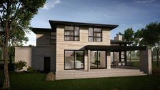 Rockwood : TALO Plans Future House, Architect Design, Modern House Design, Architecture, Facade, House Plans, Sweet Home, How To Plan, Mansions