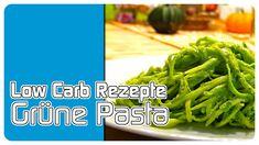 Low Carb Rezepte - Grüne Pasta