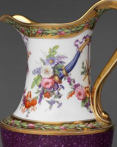 For the Sèvres porcelain factory, the years of the French Revolution were difficult ones. The majority of the aristocratic clientele that had traditionally purchased its products were either killed or driven into exile, and the demand for luxury products such as porcelain was much diminished in the ruinous economy created by the Revolution