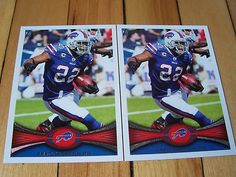 FRED JACKSON 2012 Topps #133 Lot of (2) Base Cards BUFFALO BILLS Mint Condition