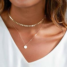 Limited Layered Plynx Necklace