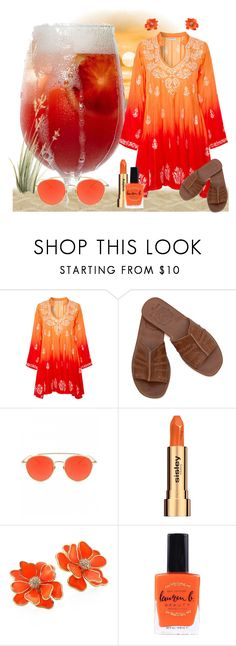 """It's Sangria, Baby!"" by krusie ❤ liked on Polyvore featuring Juliet Dunn, Sisley and Kenneth Jay Lane"
