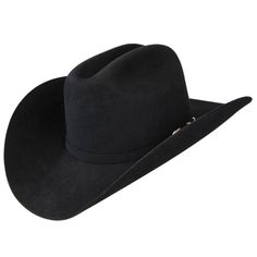2270d27f7cc 30x Stetson El Patron - The Stetson El Patron 30X fur low cowboy hat has a