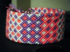 FB purple and coral