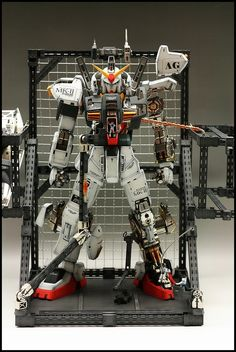 PG 1/60 RX-178 Gundam Mk-II A.E.U.G.    Modeled by Minamp123.