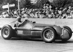 F1 1950 - Extra-championship - Swiss GP - Geneve - Alfa Romeo 158 - Juan Manuel Fangio