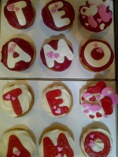 Cupcakes San Valentín