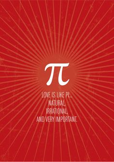 Love math in relation to other things