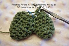 Crochet Makes Me Happy!: Crochet Pattern: The Heart
