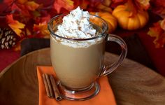 Ditch the high-calorie #pumpkin spice treats... for the guilt-free goodies… in today's HG!