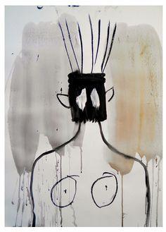 shohei hanazaki | Tumblr Illustrations, Graphic Illustration, Figure Painting, Painting & Drawing, Jean Dubuffet, Strange Creatures, Neo Expressionism, Naive Art, Outsider Art