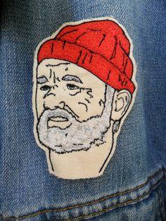 Steve Zissou Embroidered Patch