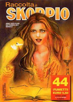 Fumetti EDITORIALE AUREA, Collana SKORPIO RACCOLTA n°448 Settembre 2011