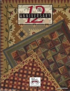 12th Anniversary Quilt Book by Gerry Kimmel Car Red Wagon | eBay