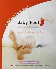 Baby Foot Easy Pack 2 x 35ml, 1box English Version, 1 Pair Only