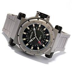 603-667 - Invicta Men's Coalition Forces Swiss Quartz GMT Titanuim Case & Bracelet Watch