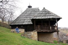 Serbian old mountain house. Early Modern Period, Serbian, Belgrade, Weird World, Countryside, Home And Family, Cabin, Architecture, House Styles