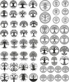 New Celtic Tree Tattoo Tatoo Ideas Celtic Tree Tattoos, Viking Tattoos, Celtic Tattoo Symbols, Wiccan Tattoos, Warrior Tattoos, Symbolic Tattoos, Tattoo Life, Tree Of Life Tattoos, Arte Viking