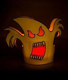 FREE DIY Halloween and tutorial halloween templets Halloween Horror, Halloween Crafts, Halloween Printable, Halloween Ideas, Vendor Events, Halloween Candles, Little Monsters, Deco, Favorite Holiday