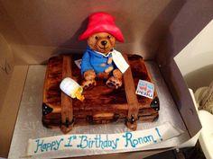 Turning 1 with Paddington! Amazing cake