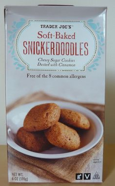 What's Good at Trader Joe's?: Trader Joe's Soft-Baked Snickerdoodles