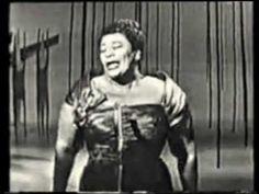 "Ella Fitzgerald British TV 1961 ""Stompin' at the Savoy"" #music"