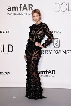 Gothic Glamour Took Over The AMFAR Red Carpet At Cannes 2016