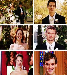 Weddings of One Tree Hill. Lucas you are so hot :3