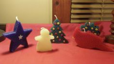 Beeswax Cookie CutterCandles