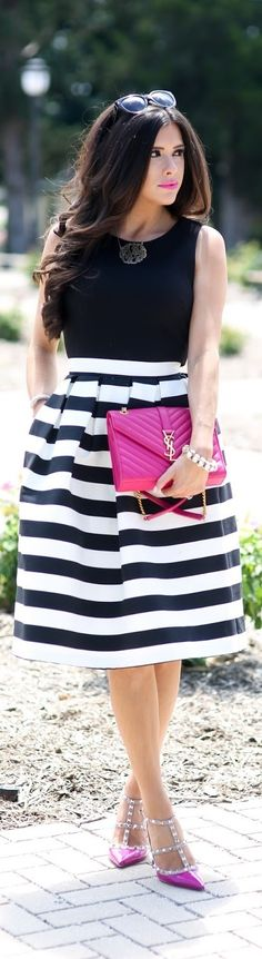 My Favorite Midi Skirt / Fashion By The Sweetest Thing
